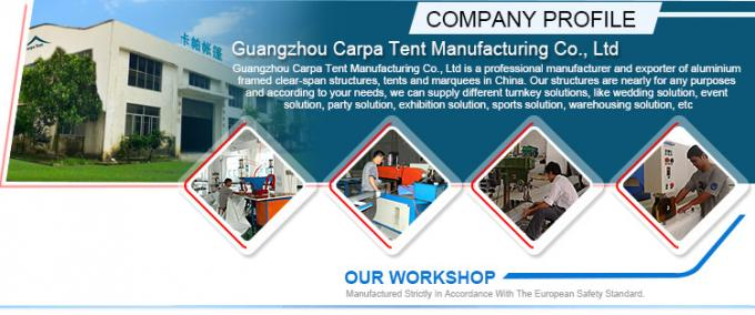 A - Frame Outdoor Event Tents With Roof Linings And Curtains  Inner Decoration