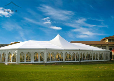ประเทศจีน Flexible And Luxurious Euro Mixed Wedding Marquees For Outdoor Events ผู้ผลิต