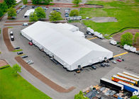 ประเทศจีน Rainproof Fabric Sidewall Strong Event Tent Accommodation With Heavy Duty Material โรงงาน