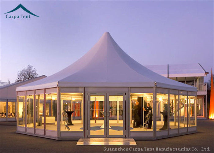 & Multi-Sided Party Tents With Glass Wall