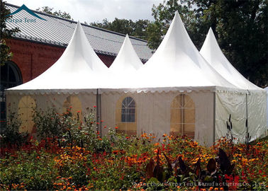ประเทศจีน Pagoda European Style Tents For Parties Wind Resistant  Tent Over 100 People ผู้จัดจำหน่าย