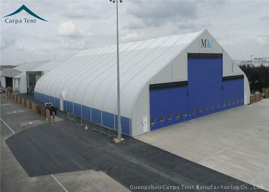 ประเทศจีน Water Proof Large Aircraft Hangars Different Size With Heavy Duty Materials ผู้จัดจำหน่าย