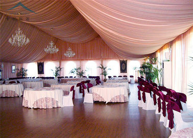 ประเทศจีน A - Frame Outdoor Event Tents With Roof Linings And Curtains  Inner Decoration ผู้จัดจำหน่าย
