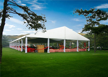 ประเทศจีน Multi - Functional European Style Tents With VIP Cassette Wooden Flooring System ผู้จัดจำหน่าย